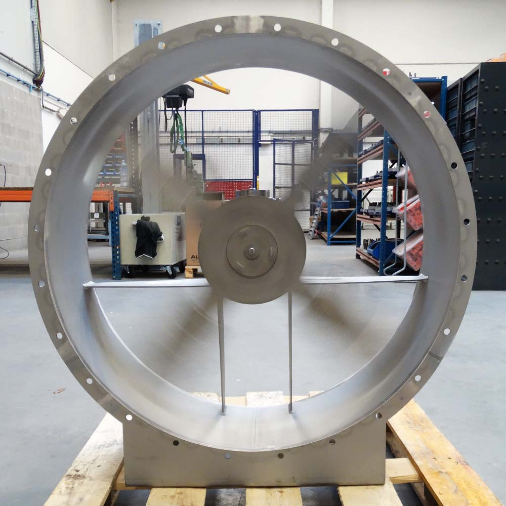 Fans for the extraction of ammonia vapours, Almeco