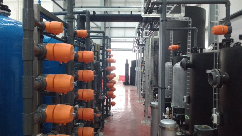 water treatment plant  smart systems