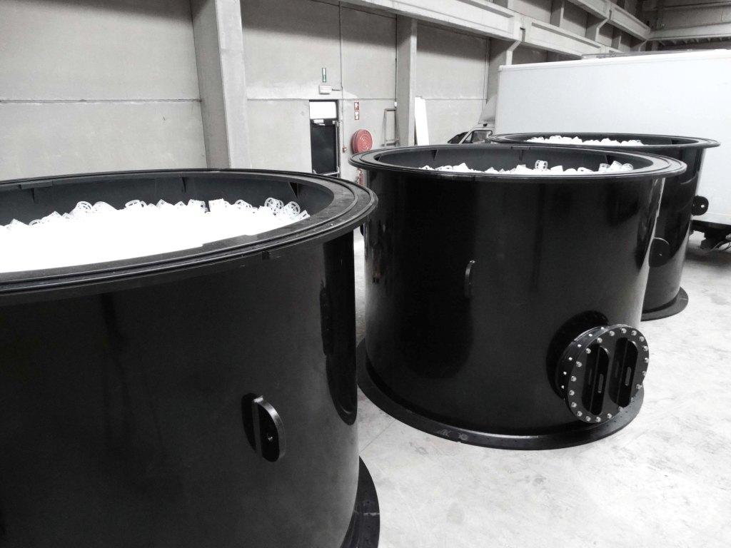 Methane stripper, PCA air
