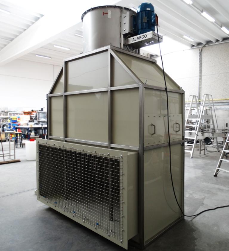 high pressure spraying system