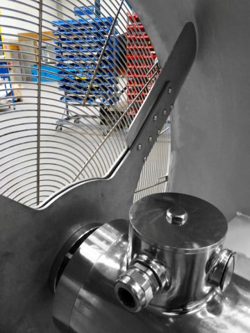 Stainless steel fans, Almeco