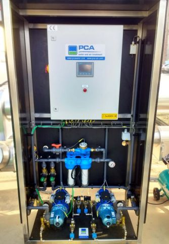Electric cabinet for spraying system, PCA Air