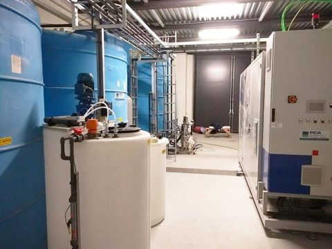 Zero discharge of waste water at Corradi, PCA