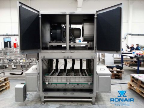 Ronair drying system for doypacks
