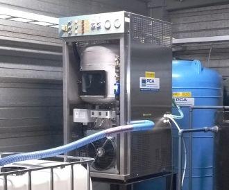 Smallest PCA evaporator
